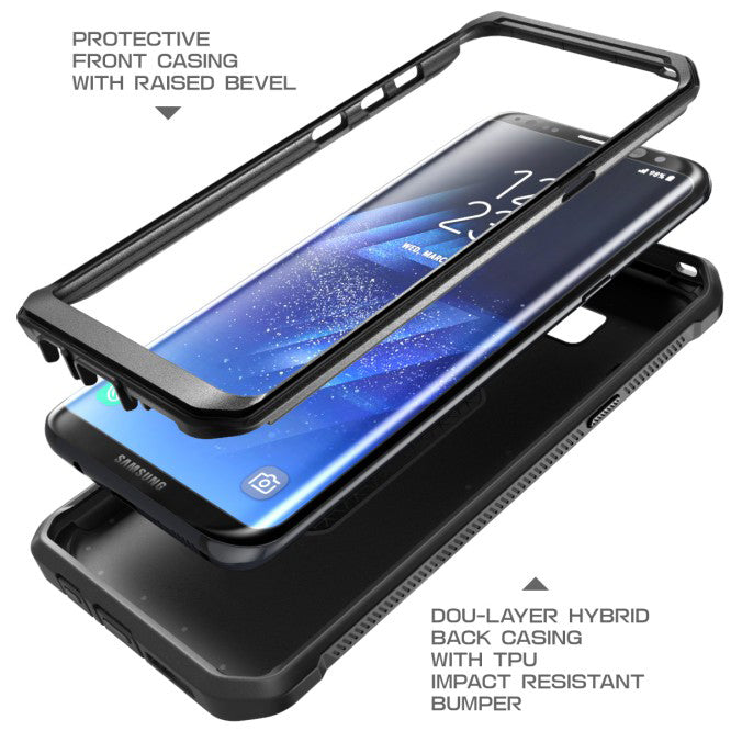 Case Hybrid Slim Fit Cover Reinforced Bumper Shock Absorbent