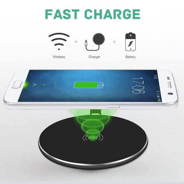 Wireless Charger Fast 7.5W and 10W Charging Pad Slim