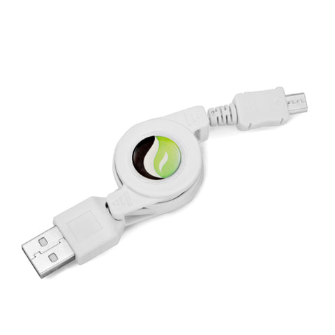 Image of USB Cable Retractable MicroUSB Charger Power Cord