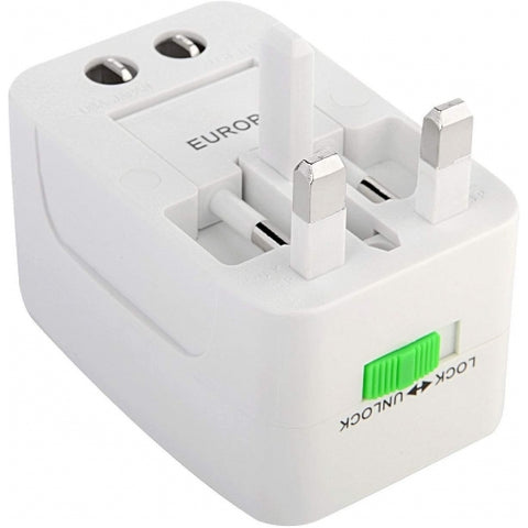 Image of International Charger USB 2-Port Travel Adapter Plug Converter AC Power