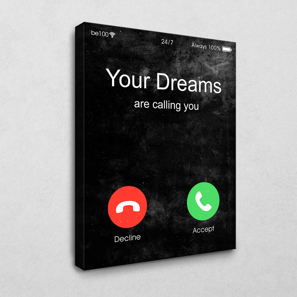 Your Dreams are calling you (Black Edition)
