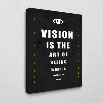 Vision is the Art