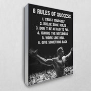 Arnolds 6 Rules of Success (Akustikbild)