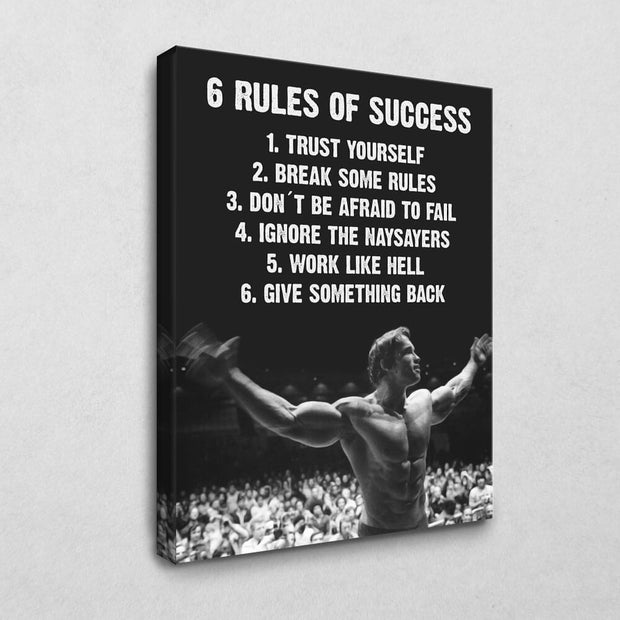 Arnolds 6 Rules of Success