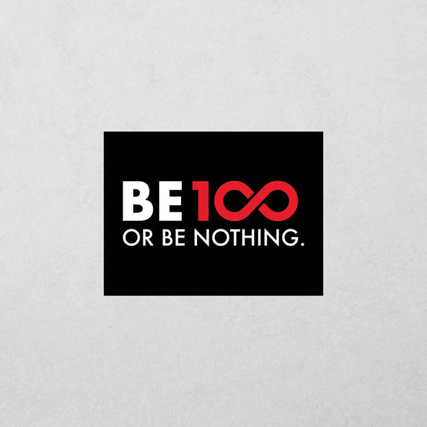 BE100 Sticker