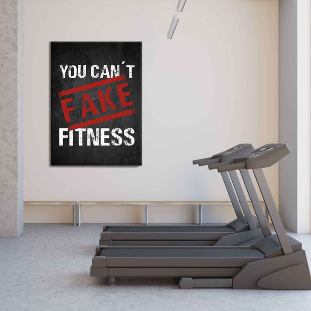 You can't fake Fitness