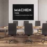 Machen Definition