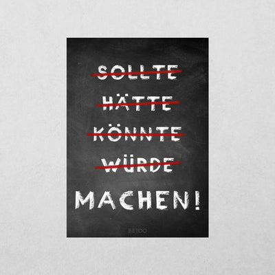 Machen! Sticker