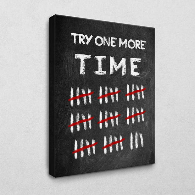 Try one more Time Board