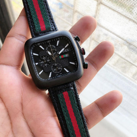 Gucci Square Stainless Steel