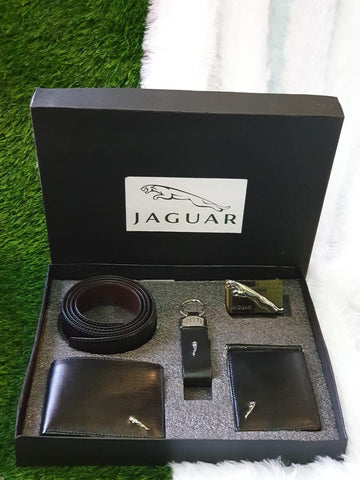 Jaguar Belt Wallet Combo
