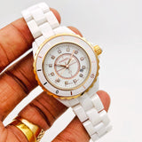 CHANEL Ceramic Watch FOR WOMEN.