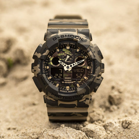 Casio G-Shock Green Camouflage