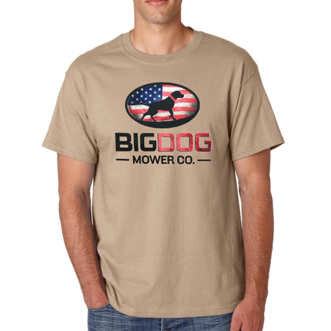BigDog® Tan Heavy Duty Tee