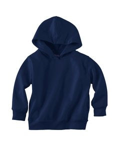 Toddler Hooded Sweatshirt with Pockets (Navy) (4T)