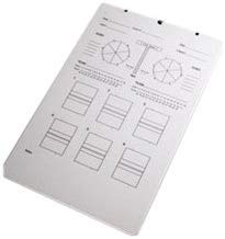 Tandem Sport Deluxe Volleyball Clipboard