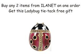 Ladybug Tie-tack ILANET Museum Reproductions Easter Egg Sale