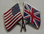 United Kingdom & U.S. Lapel Pin