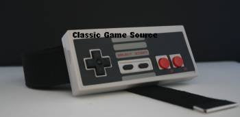 Working NES Nintendo Controller Belt Buckle with Belt