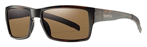 Smith Outlier Sunglasses Matte Tortoise with Polarized Brown Lens