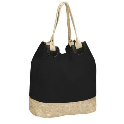 Soft Eco Tote Bag [Set of 2] Color: Black
