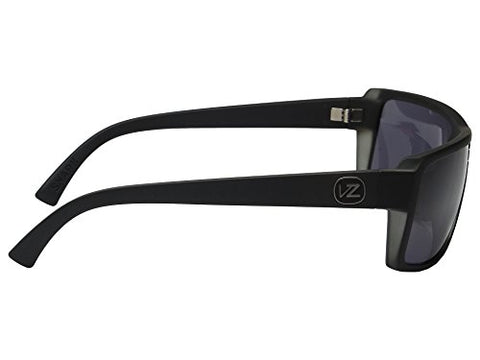 db2d998db873 VonZipper Snark Sunglasses Matte Black with Wildlife Vintage Grey Polarized  Lens
