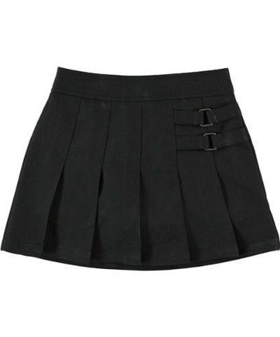 French Toast Uniforms Girls' Scooter Skort (Black 14)