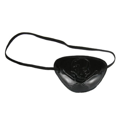 See Through Skull Pirate Eye Patch ~ Halloween Pirate Costume Accessory (STC12028)