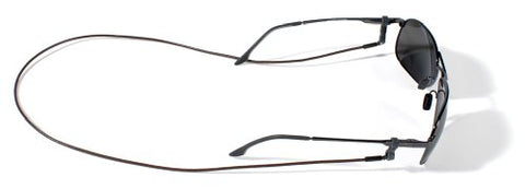 Croakies Premium Leather Eyewear Retainers, Spec Ends, Brown
