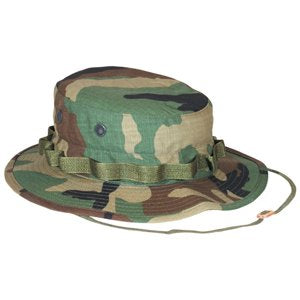 Military Boonie (Large, Woodland)