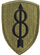 8th Infantry Division Multicam Patch