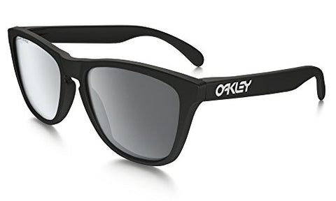 Oakley Frogskins Sunglasses Matte Black with Black Iridium Polarized Lens