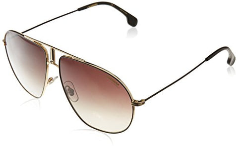 Carrera Adult Bound/S Sunglasses, Black Gold/Brown Gradient, OS