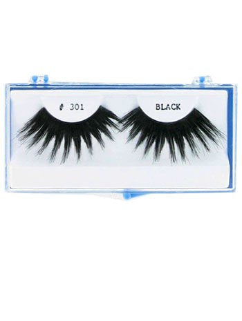 Black Long Thick Fake Eyelashes - ONE SIZE