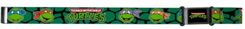 TMNT Ninja Turtle Children Stretchable Belts with Magnetic Buckle 1  wide fits up to 28  Waist