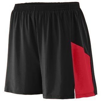 Sprint Short Adult - Black Red - LARGE