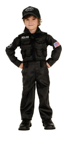 Policeman S.w.a.t. Costume - Toddler