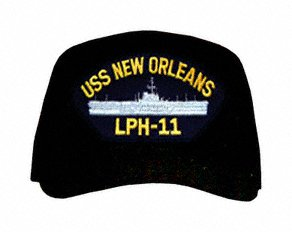 USS New Orleans LPH-11 Ship Ball Cap