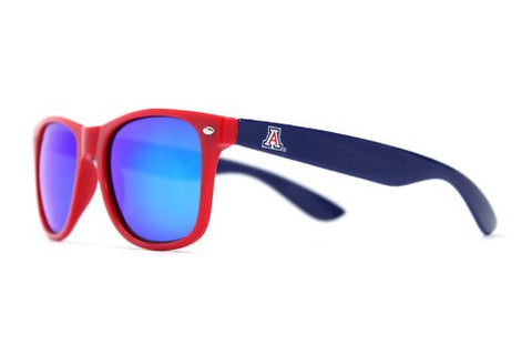 Society43 NCAA Throwbacks - Arizona Wildcats Red/Blue Sunglasses