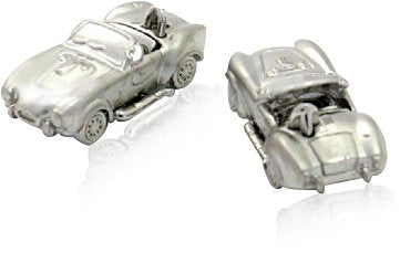 Shelby Cobra Cufflinks Convertible Race Car Cuff Links