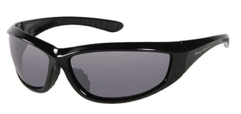 Harley-Davidson Men's Sun Lifestyle Black w/Grey Lens Sunglasses HDS609BLK-3