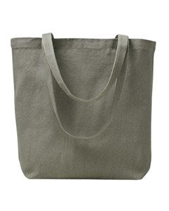 ECON RECYCLED BASIC TOTE BAG (EVERYDAY OLIVE) (OS)