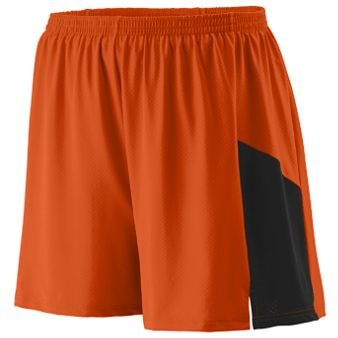 Sprint Short Adult - ORANGE BLACK - MEDIUM