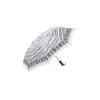Keyboard Umbrella with Sheetmusic