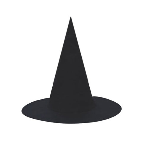 SeasonsTrading Child Black Witch Hat ~ Halloween Witch Costume Accessory
