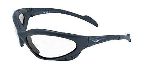 Global Vision Eyewear Neptune Safety Glasses, Clear Lens