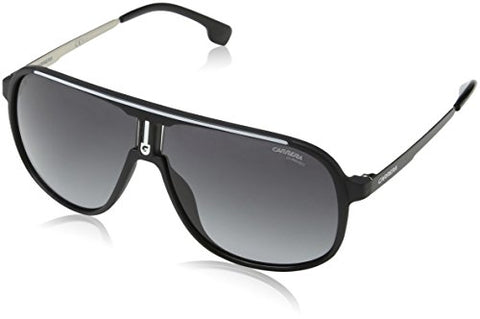 Carrera 1007/S 003 Matte Black 1007/S Aviator Sunglasses Lens Category 3 Size 6