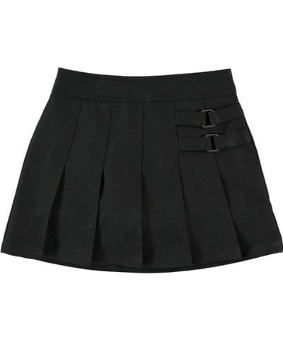 French Toast Uniforms Girls Scooter Skort (Black 05)