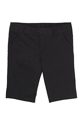 French Toast Bermuda Short(Junior Sizes) Black 7 Jr