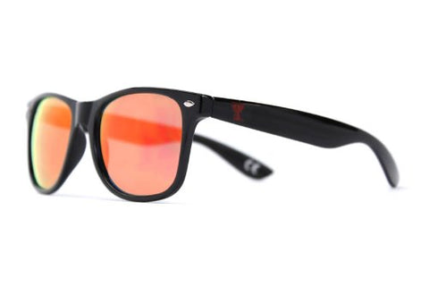 Society43 NCAA Sunglasses - Texas Tech Red Raiders Black Wayfarer Style